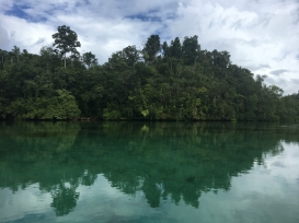 Hidden bay Raja Ampat